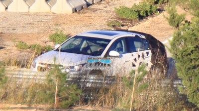 2012 Holden Cruze Hatchback Spied Testing