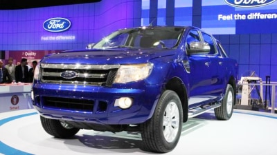 2011 Ford Ranger 'T6' Revealed At Australian International Motor Show