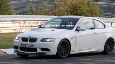 BMW M3 GT Spied Testing At The Nurburgring