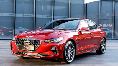 Genesis Steps Up Its Prestige Presence With 2018 G70 Sedan