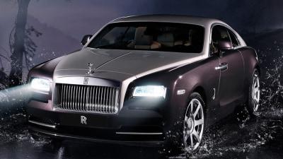 Rolls-Royce Wraith Revealed In Geneva