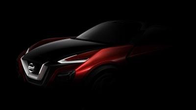 Nissan Crossover Concept Teaser Emerges Prior To Frankfurt Unveil