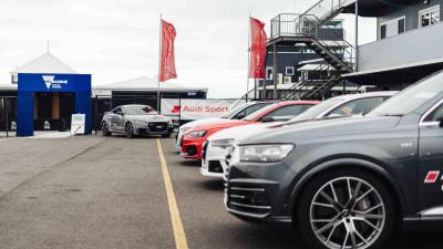 Audi's exotic European vacation