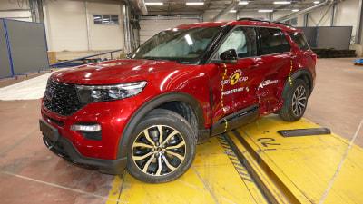 Euro NCAP: CX-30, Explorer, GLB get five-star ratings