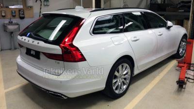 2016 Volvo V90 Caught Undisguised In Sweden