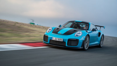 Porsche's GT2 RS is the fastest sports car to lap the famed Nurburgring circuit