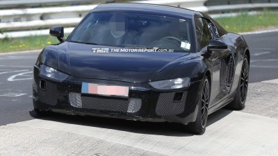 2016 Audi R8 Spied Testing
