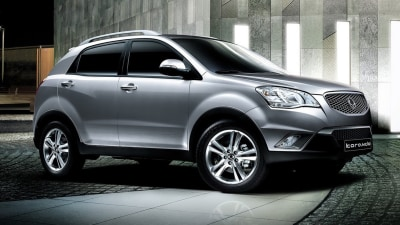 2012 SsangYong Korando Adds New Entry Diesel And Petrol Options