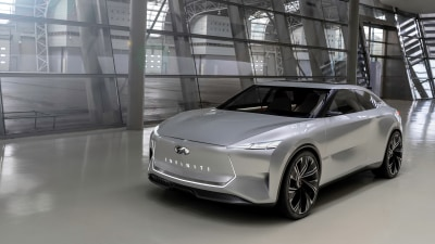 Infiniti Qs Inspiration concept unveiled