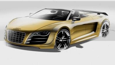 Audi R8 GT Spyder On The Way