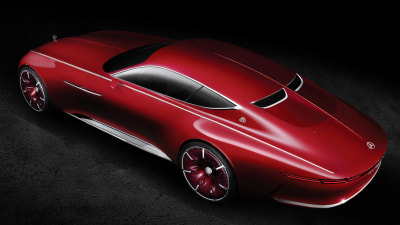 Mercedes-Maybach 6 Concept Electrifies The Future Of Extreme Luxury