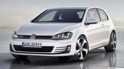 2014 Volkswagen Golf GTI Concept Revealed In Paris