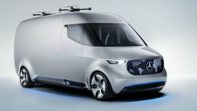 Mercedes-Benz Vision Van Concept Unveiled - The 'Future Of Vans'