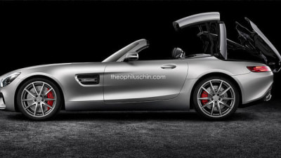 Mercedes-AMG GT Folding Hardtop Rendered
