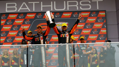 2016 Bathurst 1000 - Davison | Webb Greet The Flag But Triple Eight Lodges Protest