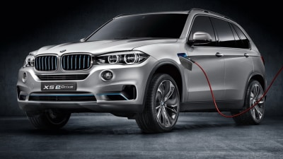 BMW X5 Concept5 Adds Plug-in Hybrid eDrive System