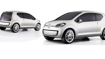 Video: Volkswagen Teases Up! City Car, Ken Block Teases Gymkhana 4