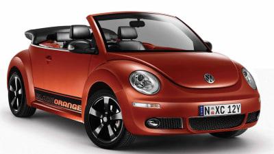 2010 Volkswagen New Beetle BlackOrange Announced
