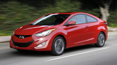 Hyundai Elantra Coupe Revealed At Chicago Auto Show