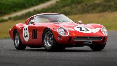 $66m Ferrari 250 GTO breaks auction records
