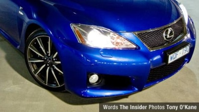 2009 Lexus IS F Road Test Review