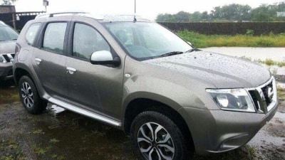 New Nissan Terrano Surfaces