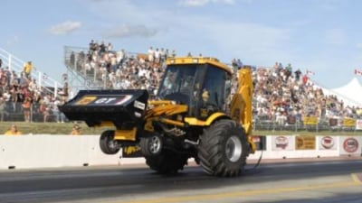 The JCB GT: Worlds Fastest Backhoe