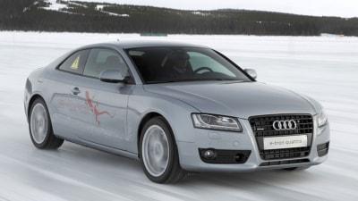 Audi A5 e-tron Hybrid Prototype Revealed