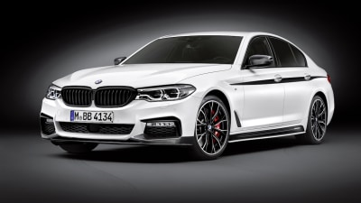 BMW 5 Series Shows Its Sporty Side With M Performance Accessories