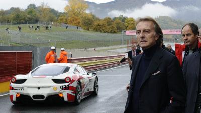 Ferrari Boss Luca di Montezemolo: Italy's Next President?