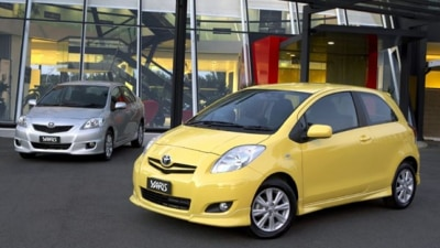 2009 Toyota Yaris YRS And YRX Models Get Stability Control And Traction Control As Standard