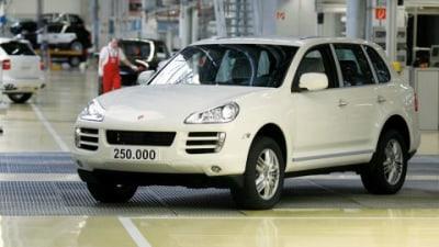 Porsche Cayenne No. 250,000 Rolls Off The Assembly Line