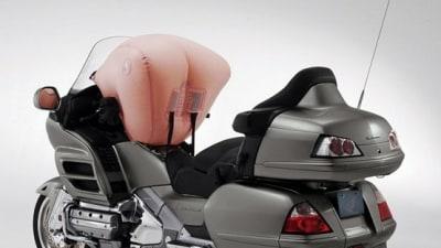 2009 Honda GL1800 Goldwing Motorcycle Airbag Saves A Life