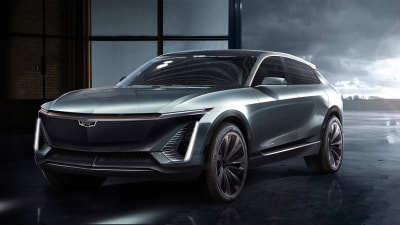Cadillac reveals electric SUV