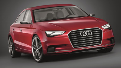 A3 Sedan Bound For Shanghai: Report