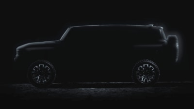 Hummer electric SUV appears just weeks after pick-up debut