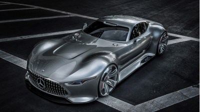 Mercedes-Benz AMG Vision Gran Turismo Concept Revealed