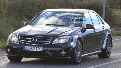 2012 Mercedes-Benz C 63 AMG Black Series Spied Testing