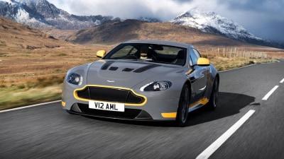 2017 Aston Martin V12 Vantage S Arrives With New Seven-Speed Manual