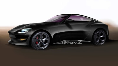 New Nissan Z: 400Z rendered off latest teaser