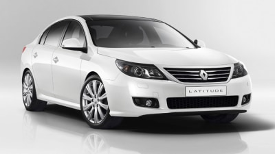 2011 Renault Latitude Debuts At Moscow Ahead Of Australian Debut
