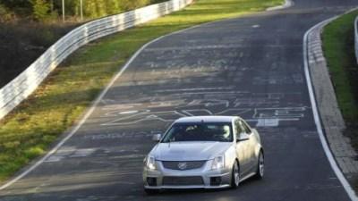 Cadillac CTS-V Now Fastest Production Sedan At The Nurburgring