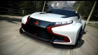 Mitsubishi Concept XR-PHEV Evolution Vision For Gran Turismo 6: Video