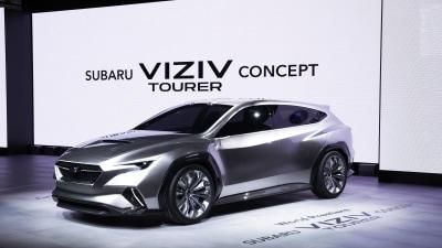 Subaru concept hints at new WRX wagon