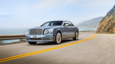 2017 Bentley Mulsanne Updated, Extended Wheelbase Model Introduced