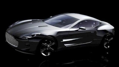 Aston Martin One-77 Teaser Video Surfaces