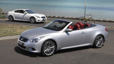 Infiniti G37 Coupe And Convertible On Sale In Australia
