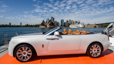 Rolls-Royce Dawn makes Australian debut