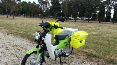 Australia Post: Out With The Humble CT110, In With The NBC110 Super Cub