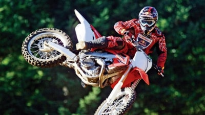 Honda CRF450R Updated For 2010 Model Year